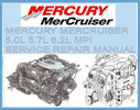 Thumbnail MERCURY MERCRUISER 5.0L 5.7L 6.2L MPI WORKSHOP MANUAL