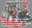 Thumbnail Deutz 2011 Engine Service Workshop Parts Operation Manuals