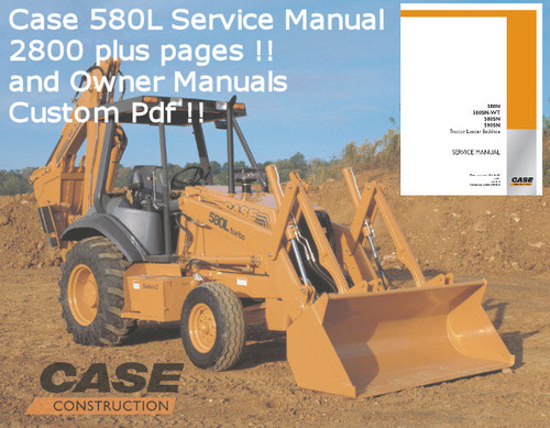 Product picture CASE 580N SERVICE OWNERS OPS MANUAL DOWNLOAD !!